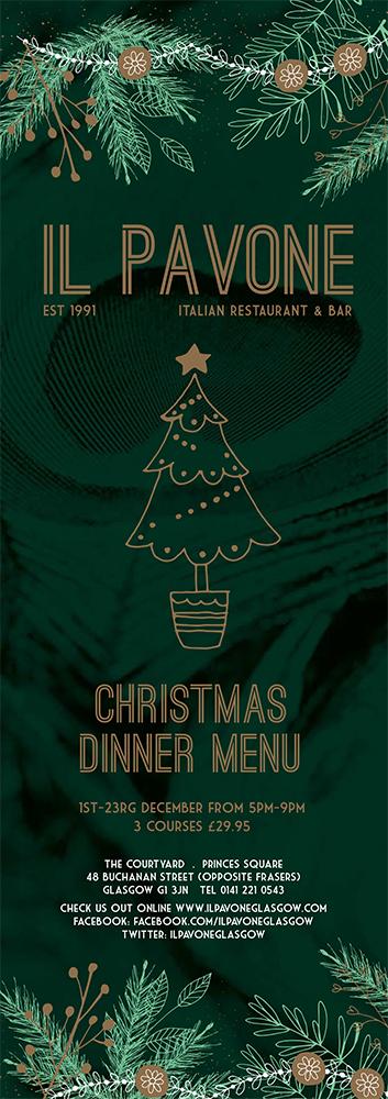 Christmas Menu 2018